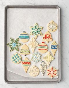 Create a dazzling arrangement of the best Christmas cookies to savor and share this holiday season with these easy recipes. We have tons of holiday cookie ideas, from candy cane cookies to peppermint bark cookies. Christmas Desserts Easy, Holiday Cookie Recipes, Christmas Sugar Cookies, Christmas Sweets, Christmas Goodies, Holiday Cookies, Holiday Treats, Christmas Baking, All Things Christmas