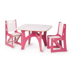 Sprout Modern Kids Table and Chair Set | Sprout - Modern Kids Tables Chairs, Storage Bins, Cubby Shelves & Storage Furniture