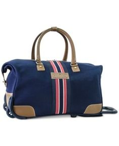 ca1045f92a Tommy Hilfiger Freeport Rolling City Bag