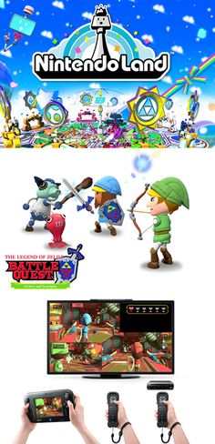 Check out Nintendo Land for the Wii U #WiiU-- hopefully for Christmas :)
