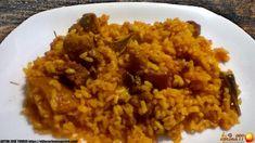 ARROZ AL HORNO CON COSTILLAS - Oido Cocina!! Risotto, Grains, Rice, Food, Al Dente, Baked Rice, Stuffed Chicken Breasts, Eggplants, Recipes With Rice
