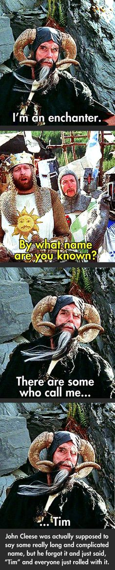 Laugh at the best Monty Python And The Holy Grail quotes. Quotes from the movie Monty Python And The Holy Grail. 2 King Arthur: Now stand aside, worthy adversary. Funny Quotes, Funny Memes, Hilarious, Jokes, Haha, Plus Tv, E Mc2, Monty Python, Good Movies