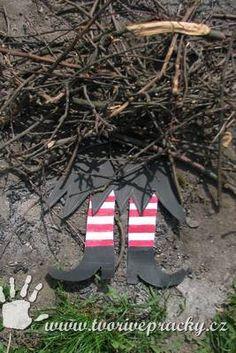 Nohy čarodějnice