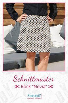"Schnittmuster & Nähanleitung für den Rock ""Nevia"" - Old Tutorial and Ideas Belts For Women, Diy Clothes, Lilo Og Stitch, Sewing Patterns, Sewing Tutorials, Sequin Skirt, Midi Skirt, Zipper, Knitting"