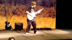 5th Grader AMAZING Guitar Cover to 'In The End' by Black Veil Brides (MU...