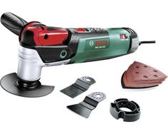 Multifunctioneel gereedschap Bosch PMF 250 CES incl. zaagbladen, schuurbladen, krabber kopen bij HORNBACH