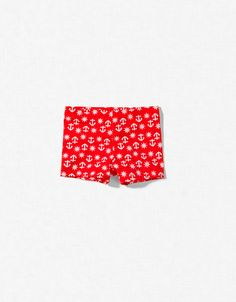 ANCHOR PRINT SWIMMING SHORTS - Accessories - Boy (2-14 years) - Kids - New collection - ZARA United Kingdom