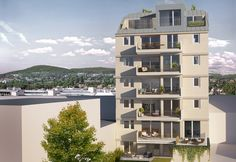 Go West – Mikro Wohnungen zum Anlegen oder als selbst bewohntes Eigentum inkl. eigenem Hochbeet. Multi Story Building, Apartments, Pool Chairs, Real Estate