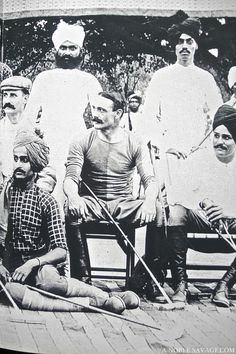 The Jodhpur Polo Team 1898 Colonial India, British Colonial, Jaisalmer, Udaipur, Pax Britannica, Maria Polo, Polo Horse, Polo Team, Hindu Culture
