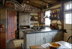 **Love this,the cabinets and the table....
