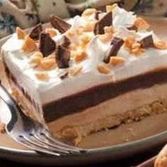 Peanutbutter Pudding Dessert....YUMMY!