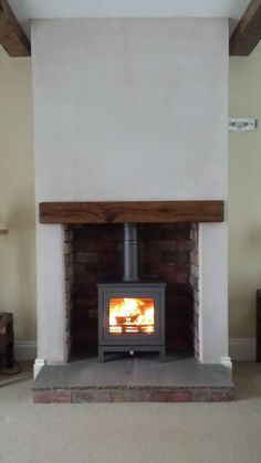 Best Pic freestanding Fireplace Hearth Popular New Cost-Free freestanding Fireplace Hearth Strategies Chesney Shoreditch Wood Burner Fireplace, Fireplace Hearth, Fireplace Design, Fireplace Ideas, Brick Fireplaces, Paint Fireplace, Electric Wood Burning Stove, Wood Burning Logs, Log Burner Living Room