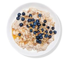 Oatmeal With Blueberries, Sunflower Seeds, and Agave | These easy, inventive hot-cereal upgrades will give you new reasons to rise and shine.