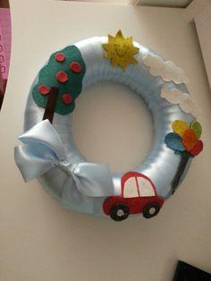 Erkek bebek kapı süsü Baby Shower Themes, Baby Boy, Diy, Craft, Bricolage, Handyman Projects, Do It Yourself, Diys, Boy Newborn