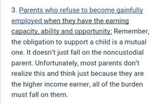 The unemployed parent can be ruled unfit. The employed parent is more stable, also the parent paying child support can be forced to obtain a job by the judge...child support income when then be lessened