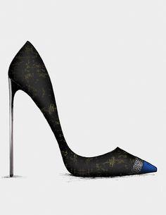 ● The Black & Blue - Collection www.guillaumebergen.com #Black #Blue #Klein #Sketch #Mode #Illustration #FashionDraw #FashionIllustration #Design #Stylisme #Stylism #Shoes #Pump #ShoesDesigner #Heels #Heel #ShoesDraw #Bootie #Satin #PeepToe #Plexi #Sandal #Leathers #Patent #Stiletto #Graphisme #Graphic #Style #Street #StreetStyle #Gold #GoldHeels #Grey #CapToe #Strap #Bootie #Sandal #Gold #AnkleBoot #Velvet