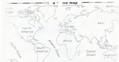Nice printable maps of the 7 continents, and other maps