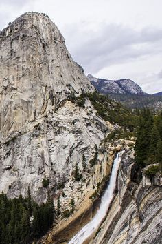 Falls, Yosemite, CA.