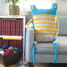 Beast Pillows by Debi van Zyl.