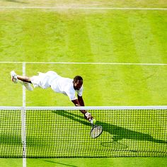 Gael Monfils - Wimbledon 2014 // Rolling Hills Country Club