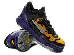 Nike Zoom Kobe 7 VII Poison Dart Frog Lakers,Style code:488371-500