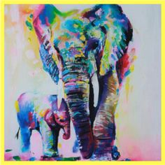 Elephant Wall Art Canvas