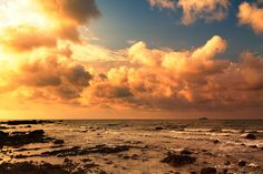 Stunning Sunrise Over The Sea at Rayong Beach by Salawin Chanthapan - Photo 148648127 - 500px