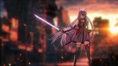 Manga Anime, Anime Girl Neko, Fanarts Anime, Anime Films, Anime Art Girl, Anime Characters, Manga Girl, Anime Wallpaper Live, Hd Anime Wallpapers