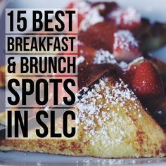 The Best Breakfast & Brunch in Salt Lake City: my tried & true local's list from diners to bakeries to my new favorite bagel shop. Full post at femalefoodie.com!