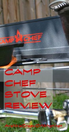A review of the camp chef stove explorer, a two burner outdoor stove. #beselfreliant