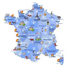 france France Map Map of France driving distances between
