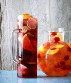 Recipes: Classic Sangria & Raspberry-Mango Sangria