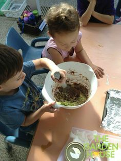 We are so lucky to have great cooks! Have you ever tried zucchini chocolate cake before? (Our children learning through play, making a recipe & preparing the cake on their own... great Reggio Inspired activity at The Garden House Preschool in Singapore)