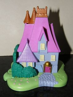 1995 Bluebird Vintage Polly Pocket Disney Cinderella Stepmothers House Playset | eBay