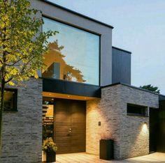 80 Marvelous Modern House Architecture Design Ideas Page 48 of 82 Modern House Exterior architecture design house ideas Marvelous modern Page Architecture Design, Minimalist Architecture, Facade Design, Exterior Design, Modern Architecture House, Modern House Facades, Modern House Plans, Minimalist House Design, Modern House Design