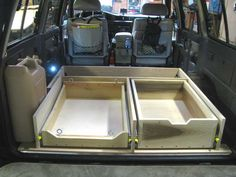 Camper Conversion & Drawer System