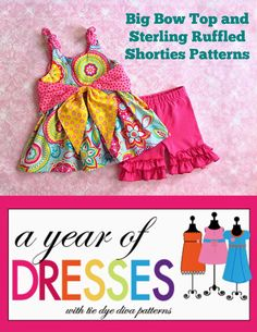 A Year of Dresses: Big Bow Top with Sterling Leggings