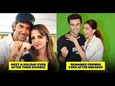 12 Bollywood Couples Who Remained Friends Even After Breakup