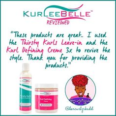 "@hercurlzrbadd says, ""These products are great.. I used the #ThirstyKurlsLeaveinConditioner and the #KurlDefiningCreme 3x to revive the style. Thank you for providing the products."" #KurleeBelleReviewed #KurleeBelle #NaturalHair   Kurlee Belle is NOW available at Walmart! Also at: www.kurleebelle.com, amazon.com or in stores in The USA, The Bahamas, Nigeria, Australia, Cayman Islands, Trinidad and Tobago, Barbados, Jamaica, Bermuda and NOW Providenciales, Turks and Caicos!"