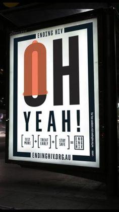 Ending HIV campaign. Sydney, Acon, frost design