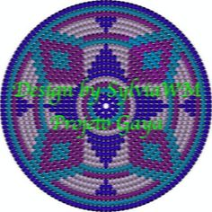 This chart is usable for crocheters that already know how to use the tapestry crochet technique. It shows the design of a circle that can be used as a frisbee, a placemat or the bottom of a bag or mochila. Crochet Shell Stitch, Crochet Motif, Crochet Stitches, Crochet Patterns, Crochet Handbags, Crochet Purses, Crochet Hats, Tapestry Bag, Tapestry Crochet