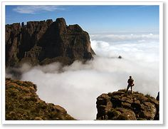 In the clouds....Drakensberg South Africa....breathtaking