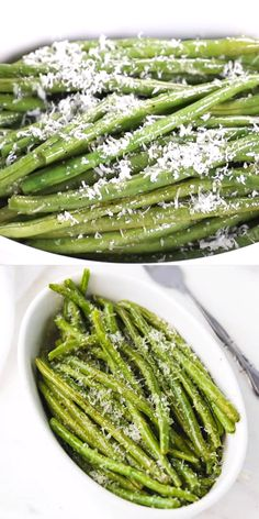 These oven baked green beans with parmesan cheese are simple to prepare and ready in under 30 minutes. Perfect for a healthy side dish or a light meal. recipes baked oven roasted olive oils OVEN BAKED GREEN BEANS WITH PARMESAN CHEESE Healthy Side Dishes, Healthy Sides, Vegetable Sides, Vegetable Side Dishes, Side Dishes Easy, Side Dish Recipes, Veggie Recipes, Broccoli Recipes, Side Dishes With Salmon