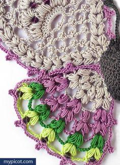 MyPicot   Free crochet patterns -Butterfly~k8~