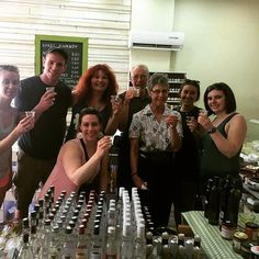 Tasting authentic Greek tsipouro, ouzo & local wines on the famous Athens food tour! | #travel #greekfood #greekdrinks
