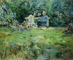 The Lesson in the Garden Berthe Morisot · 1886