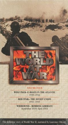The World at War Vol 4  Laurence Olivier  Wolf Pack Red Star Whirlwind ** Continue to the product at the image link.