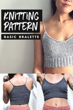 Skirt Pattern Free, Crochet Skirt Pattern, Free Pattern, Crochet Top Patterns, Free Knitting Patterns For Women, Sweater Knitting Patterns, Bralette Pattern, Summer Knitting, Crochet Clothes