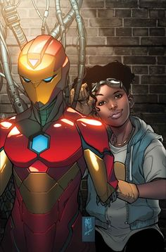 Shop for Invincible Iron Man from Marvel - written by Brian Michael Bendis. Comic book hits store shelves on February 2017 Marvel Comics, Heros Comics, Marvel Heroes, Captain Marvel, Comic Book Characters, Marvel Characters, Comic Books Art, Comic Art, Book Art