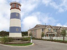 Enjoy your own personal lighthouse at Sabal Cove Apartments.
